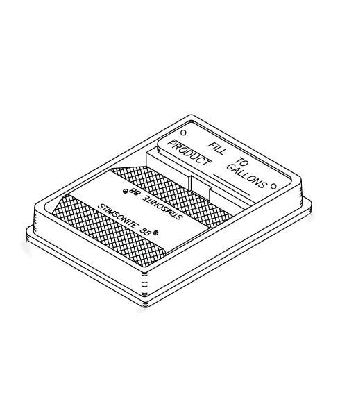 Franklin Fueling 78720104 4'' × 5'' Mid-grade Unleaded Fill Identifier Kit