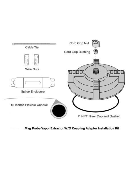 Veeder-Root 846500-002 Vapor Extraction Riser Kit w/o Coupling Adapter
