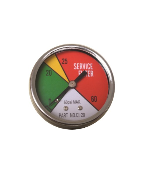 Cim-Tek 90046 60 PSI Differential Pressure Gauge