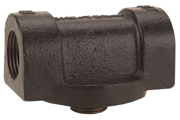 "GPI 129420-01 1"" NPT Cast Iron Filter Adapter"