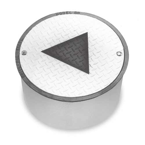 "Universal 98MW-1212 12""x12"" Bolt Monitoring Well Round Manhole"