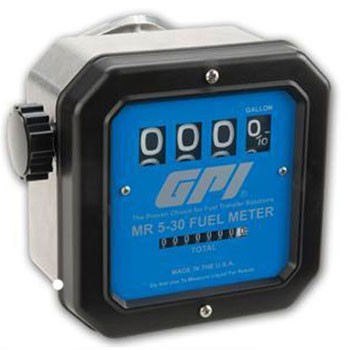 "GPI MR-5-30-G6N - 3/4"" NPT Mechanical Meter (5-30 GPM)"