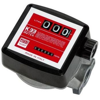 Piusi 000553130 K33 Diesel Fuel Meter (5-32 GPM)