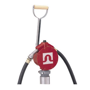 Fill-Rite Piston Hand Gas Pump with Steel Telescoping Tube & Nozzle Spout