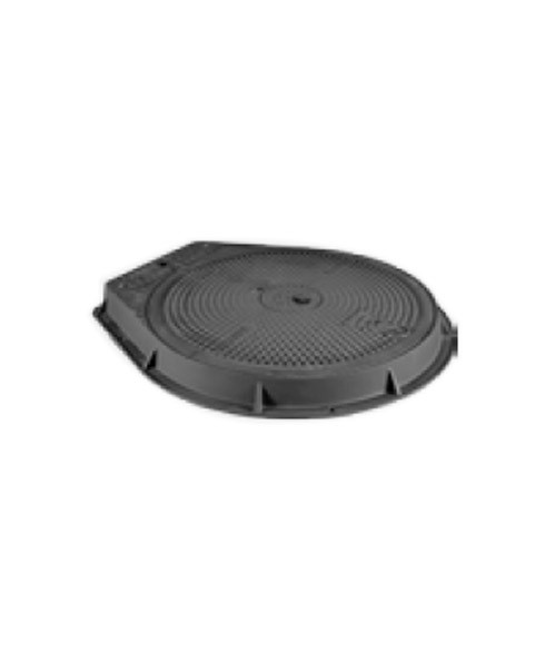 Franklin Fueling PC95-D400-DIP Cast Iron Cover w/ Integrated Dip Inspection Port