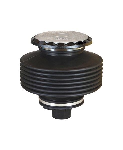 OPW 1-2115-DEVR Thread-On Spill Container w/ Drain Valve (15 Gal)