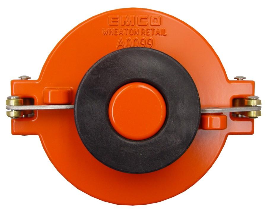 """Emco A0099-002 4"""" Vapor Adapter Cap"""