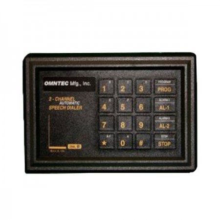 Omntec AD-8-1 Automatic Programmable Speech Dialer
