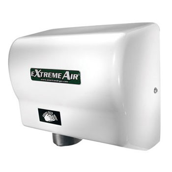 EXT American Dryer ExtremeAir White ABS Automatic Hand Dryer (540 Watts)
