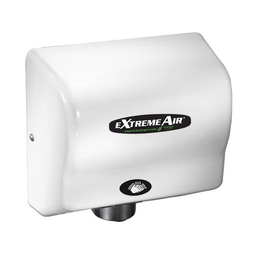 EXT-M American Dryer ExtremeAir Steel White Epoxy Automatic Hand Dryer (540 Watts)