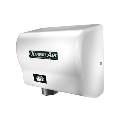 GXT American Dryer ExtremeAir White ABS Automatic Hand Dryer (1500 Watts)