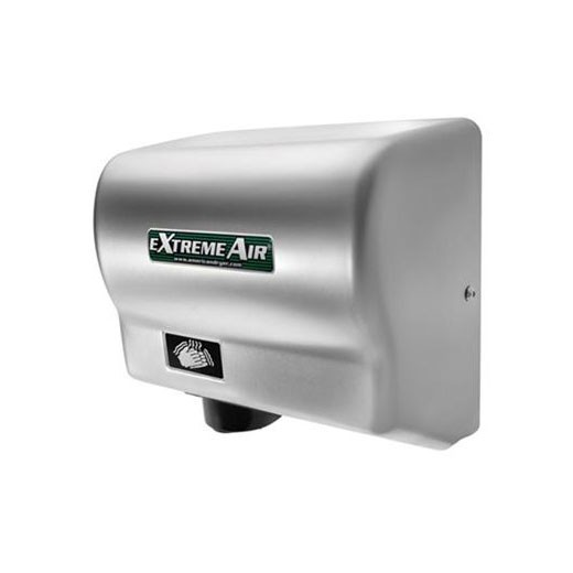 GXT-C American Dryer ExtremeAir Steel Satin Chrome Automatic Hand Dryer (1500 Watts)