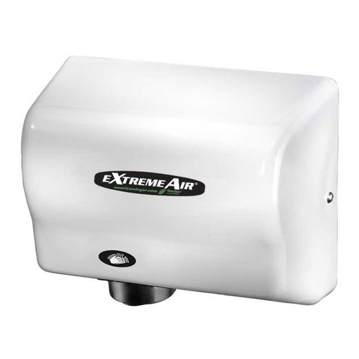 GXT-M American Dryer ExtremeAir Steel White Epoxy Automatic Hand Dryer (1500 Watts)