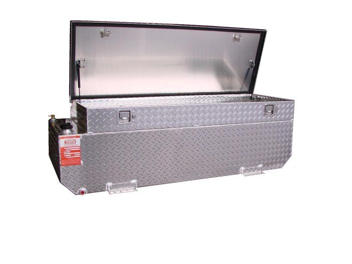 ATI AUX58FCBR - 58 Gallon 'Fuel Safe' Diesel Auxiliary Tank/Toolbox Combo