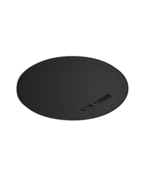 "OPW FL120BLACK 12"" Dia. Black Flat Sealed Composite Cover"
