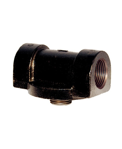 "Cim-Tek 50002 1"" NPT Cast Iron Fuel Filter Adaptor"