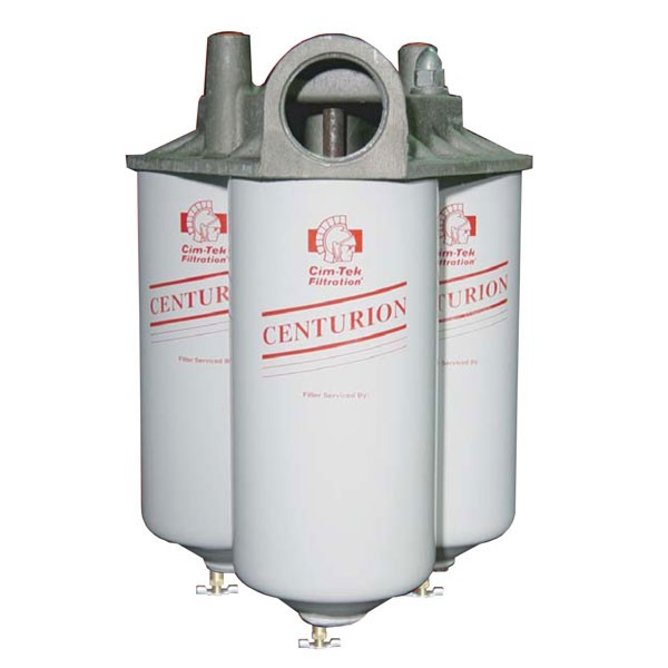 Cim-Tek 40020 Centurion IV Three Element Filter Housing (90 GPM)