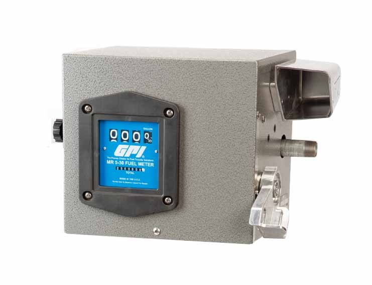GPI CM-3120 115 Volt Carbon Vane Cabinet Fuel System (76 LPM)
