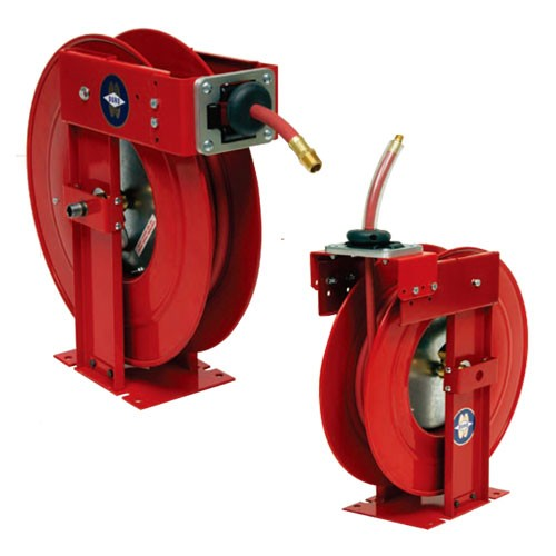 "Duro Reels 1901- 3/8"" X 50' Medium Duty Air and Water Hose Reel"