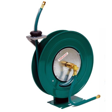 "Duro Reels 1414 3/8"" X 25' Standard Duty Air and Water Hose Reel"
