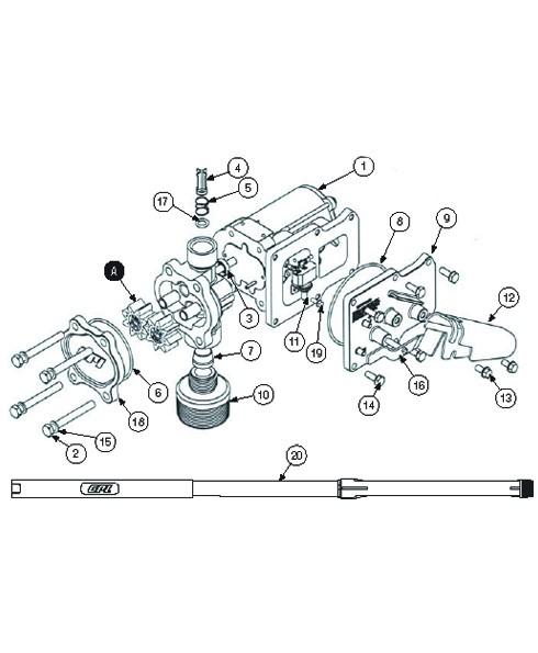 GPI 901003-77 Bypass Poppet O-Ring