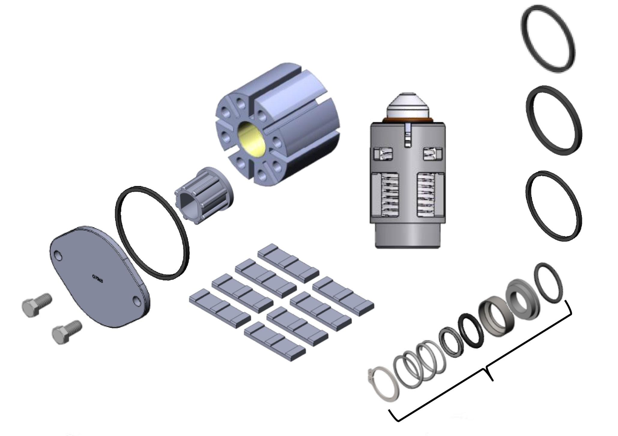 Fill-Rite 300KTF7794 Rebuild Kit for FR300 Series Pumps