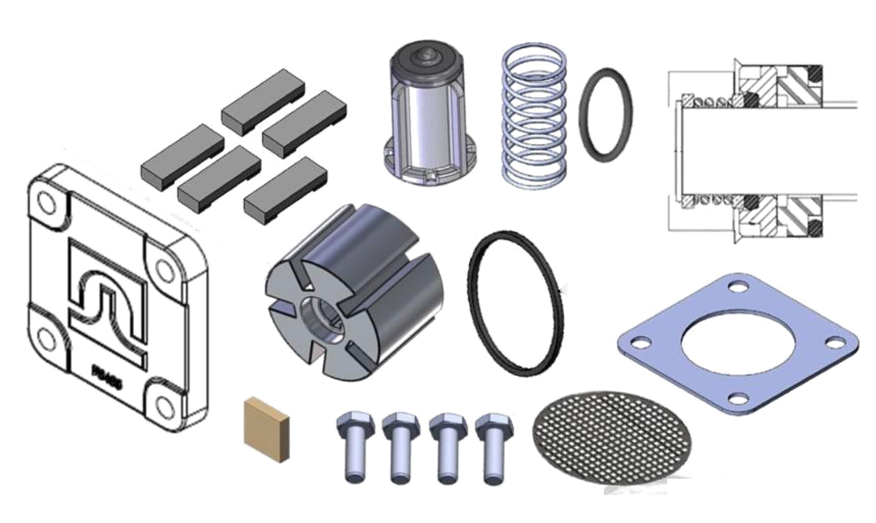 Fill-Rite 4200KTF8739 Rebuild Kit