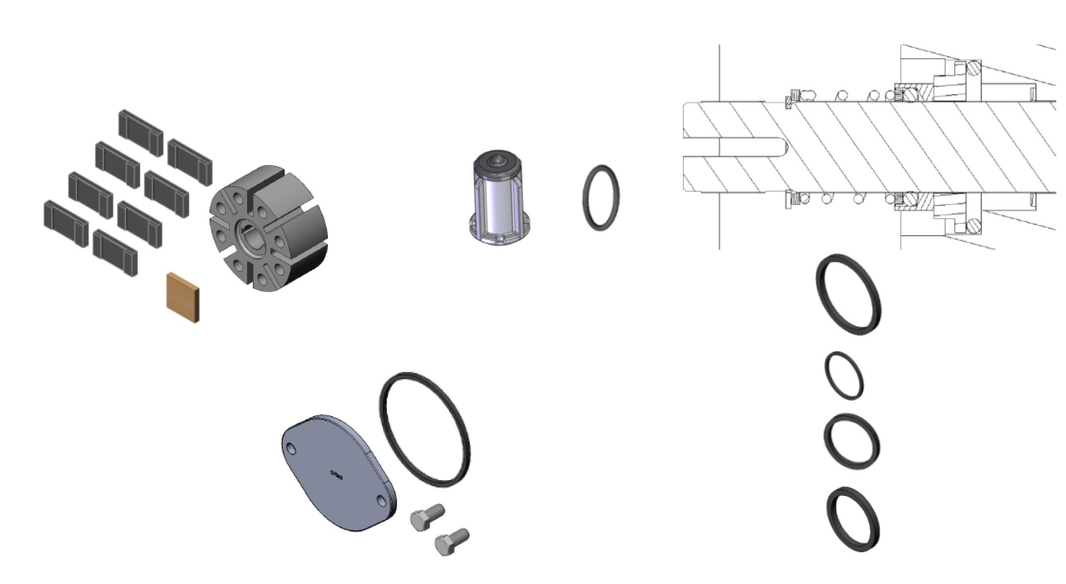 Fill-Rite 700KTF2659 Rebuild Kit