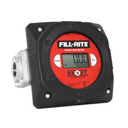 "Fill-Rite 900CD1.5BSPT 1.5"" BSPT Digital Meter (6-40 GPM)"