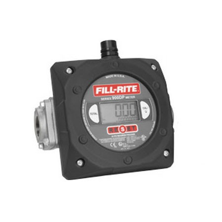"Fill-Rite 900CDPX1.5 - 1 1/2"" NPT Digital Meter with Pulser (6-40 GPM)"