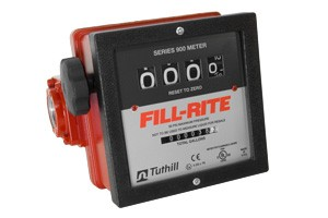 "Fill-Rite 901C1.5 4-Wheel 1.5"" Mechanical Meter (6-40 GPM)"