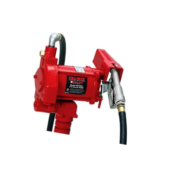 Fill-Rite FR710VBC 115 Volt AC Transfer Pump w/ UHF Nozzle & Hose (23 GPM)