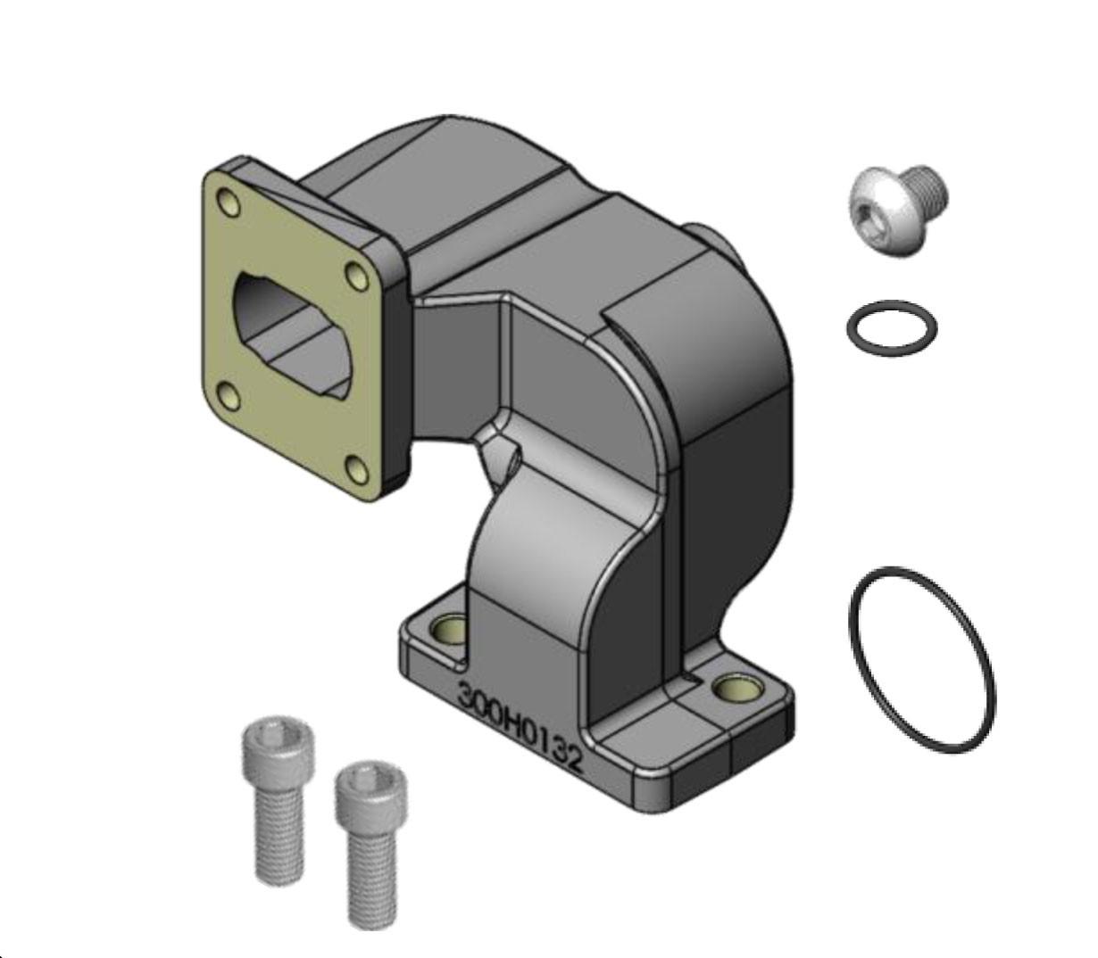 Fill-Rite KIT300MA Meter Discharge Flange Kit