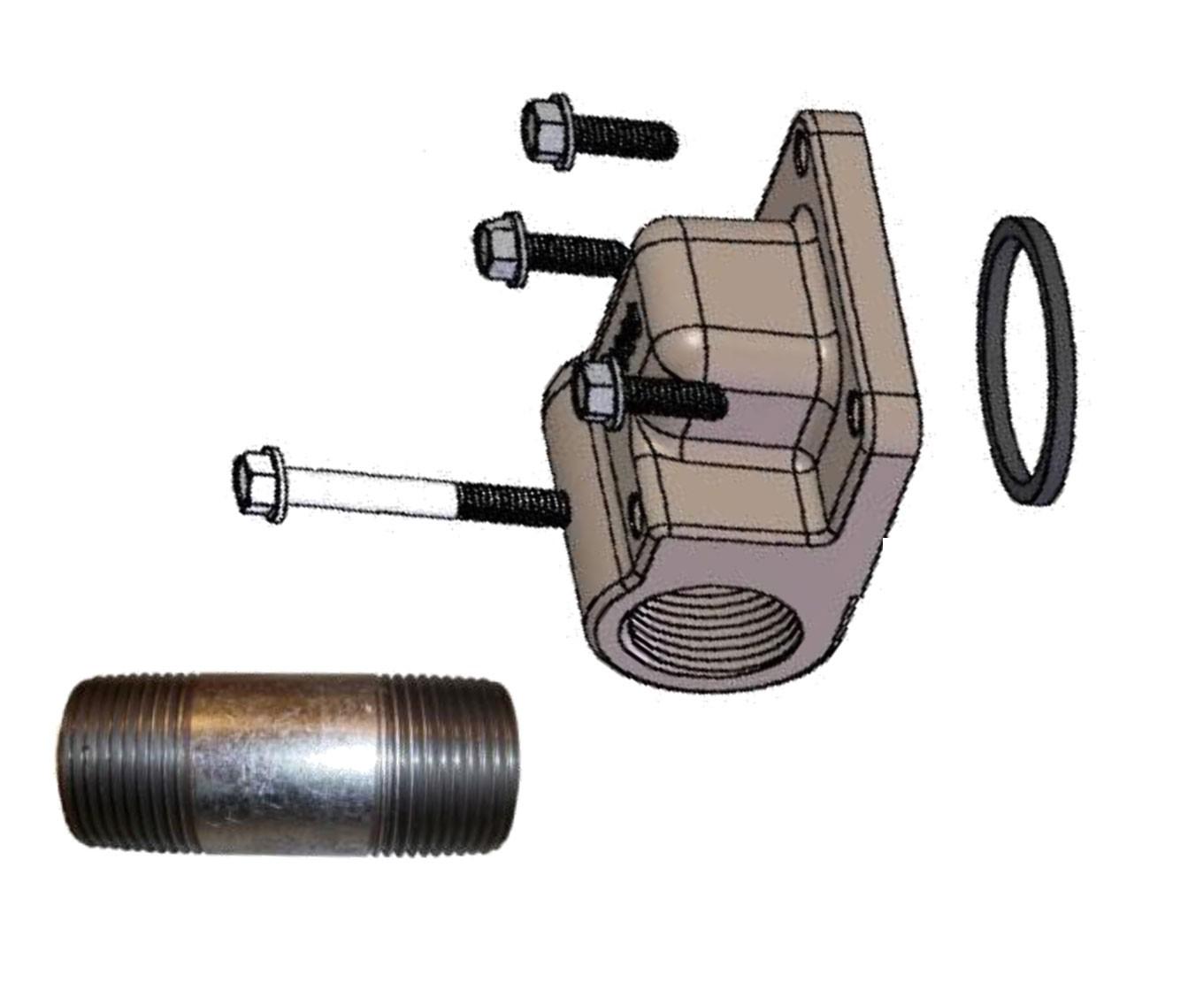 Fill-Rite KIT320MA Meter Flange Kit