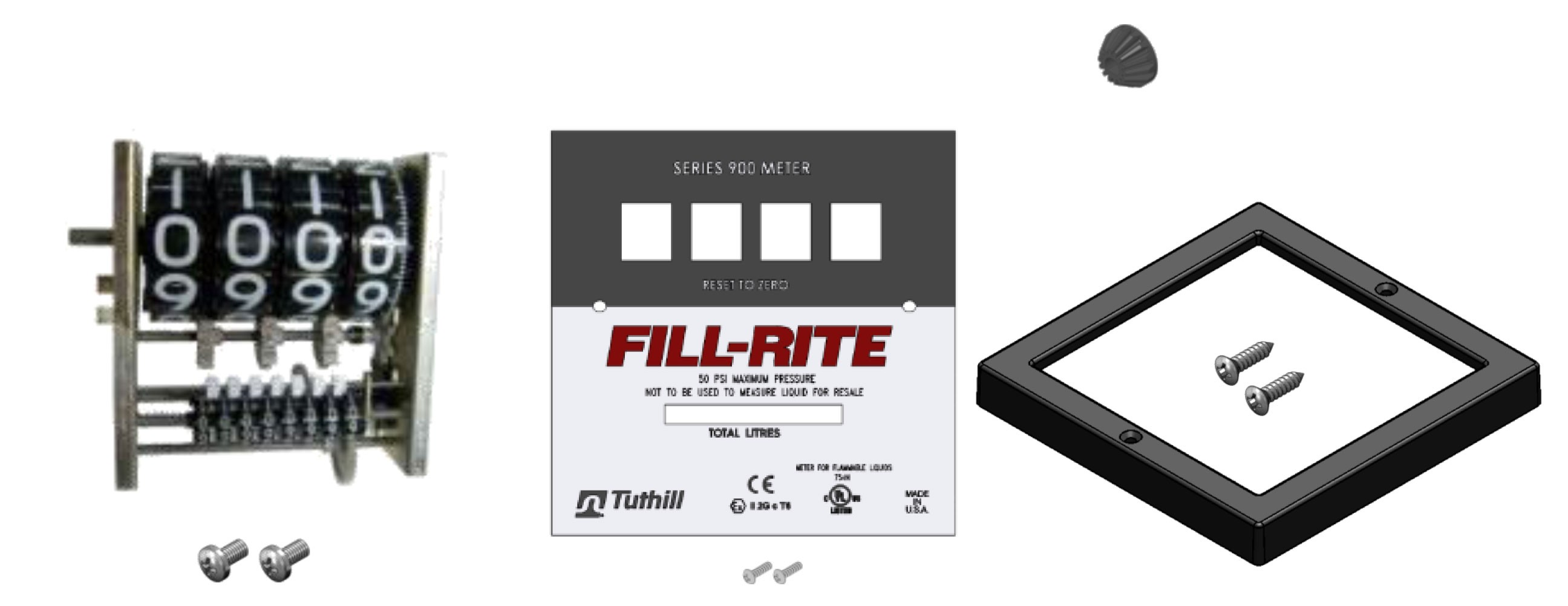 Fill-Rite KIT900LR Liter Register / Faceplate Kit
