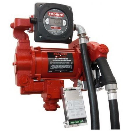 Fill-Rite FR319VBPC 115V Hi-Flow AC Pump w/Meter/Pulser/ Safe Barrier (33 GPM)