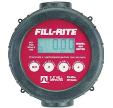 "Fill-Rite 820 - 1"" Digital Flow Meter (2-20 GPM)"