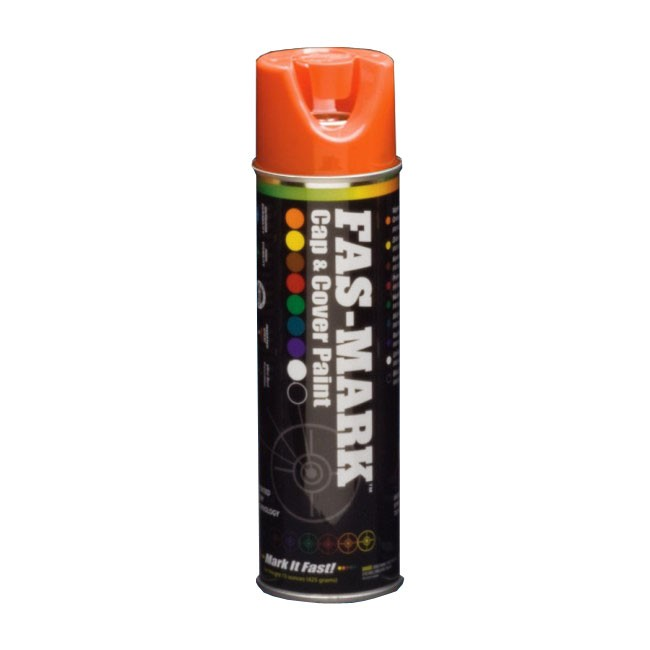 Gasoila FM15O FAS-MARK Cap & Cover Paint (Orange color)