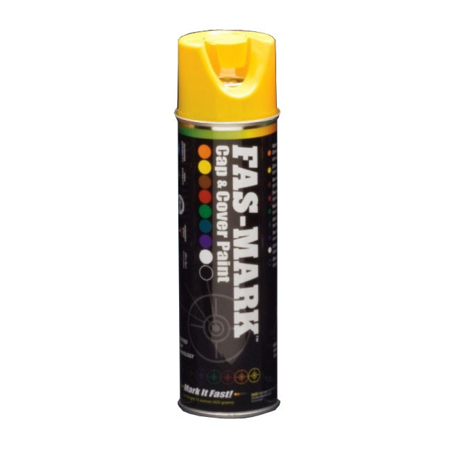 Gasoila FM15Y FAS-MARK Cap & Cover Paint (Yellow color)