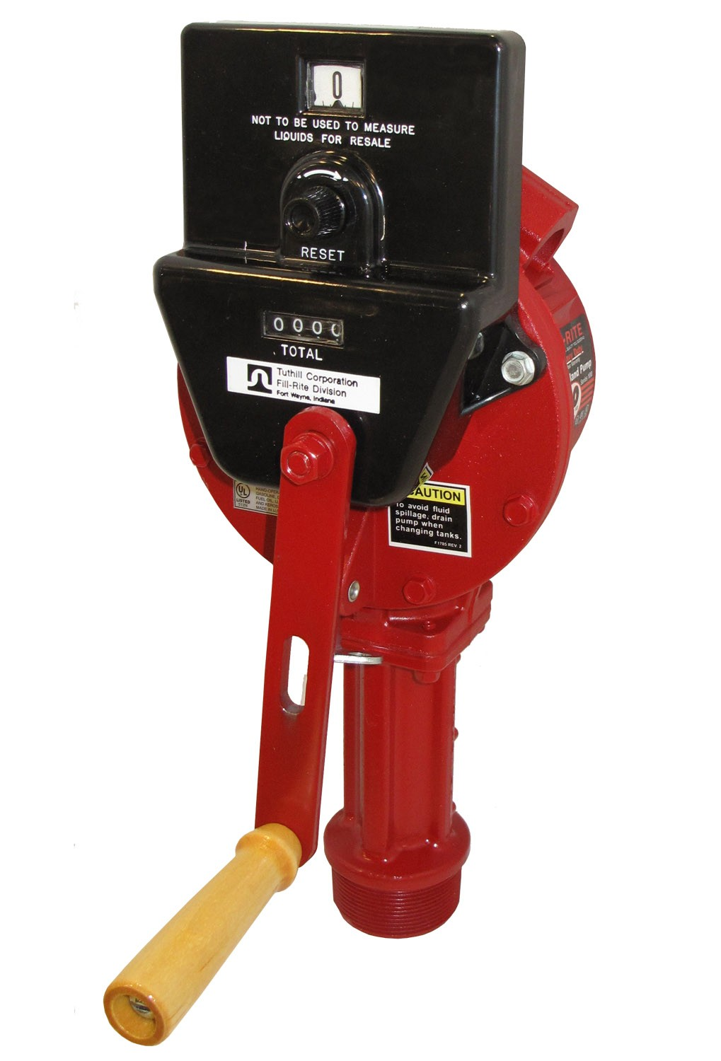 Fill-Rite Rotary Hand Gas Pump Complete with Counter