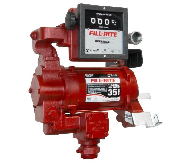 Fill-Rite FR311VLN 115V Hi-Flow AC Pump w/ 901L Meter (Pump and Meter only) (30 GPM)