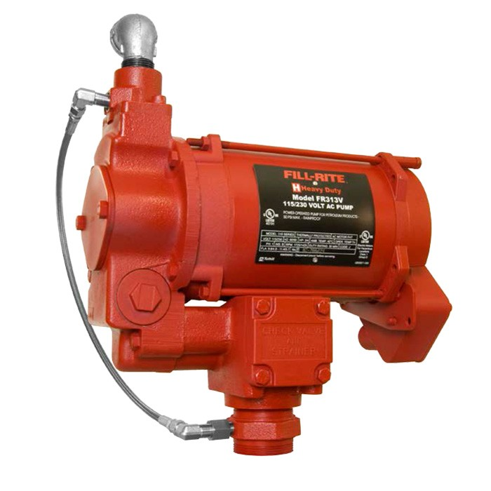 Fill-Rite FR313V AST Remote Pump 3/4 HP (20 GPM)