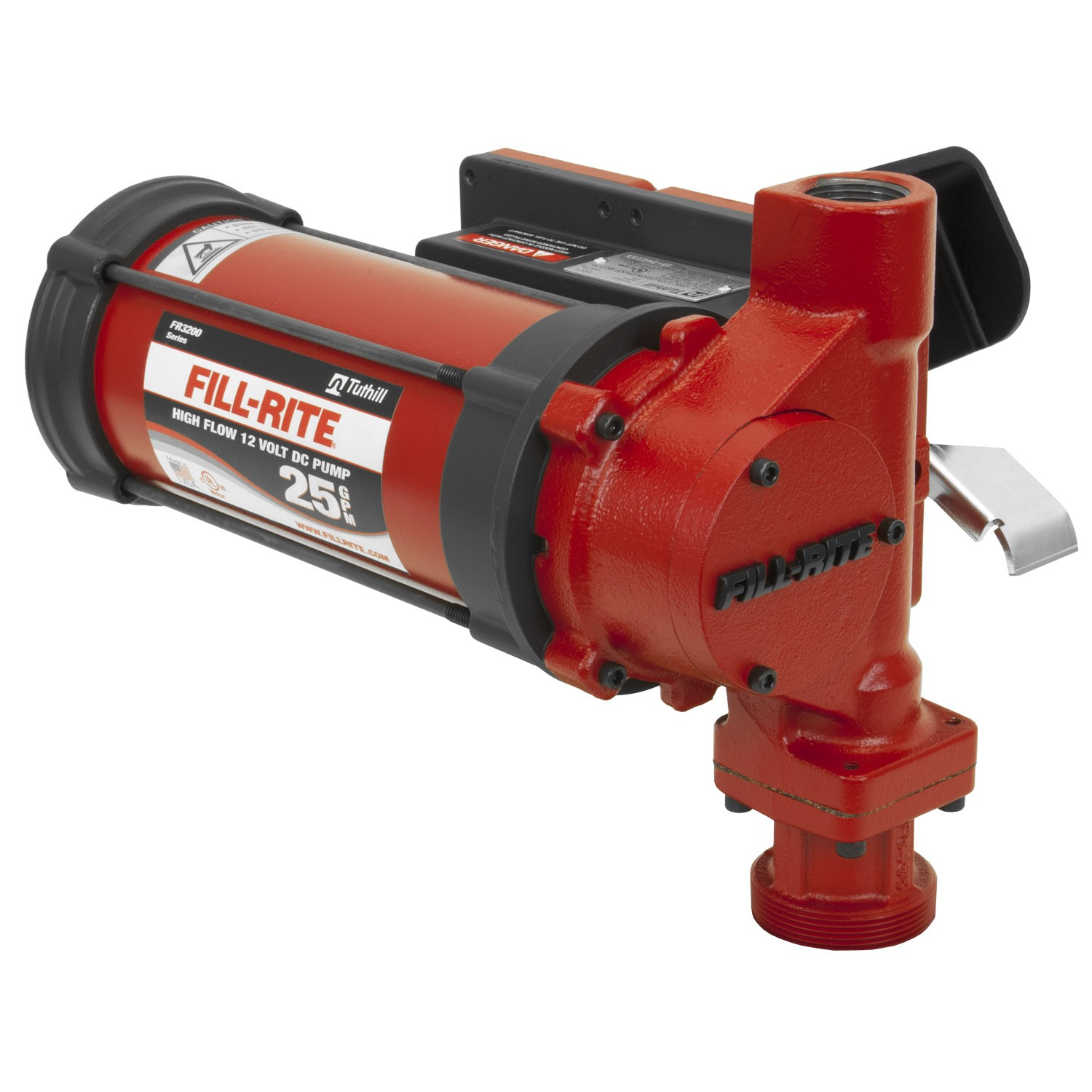 Fill-Rite FR3204 12 Volt DC High Flow Pump (Pump Only) (25 GPM)