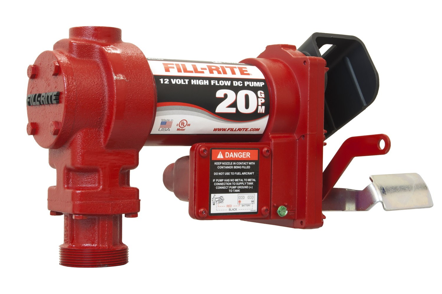 Fill-Rite FR4204G 12V DC Hi-Flow Pump (Pump Only) (20 GPM)