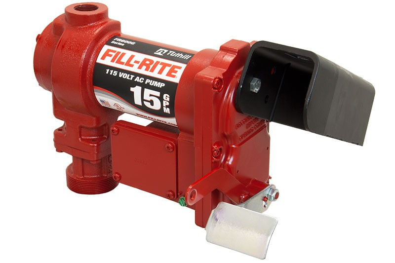 "Fill-Rite FR604GE 115V AC Pump, 3/4"" BSPP,1/4 HP Motor (Pump Only) (15 GPM)"
