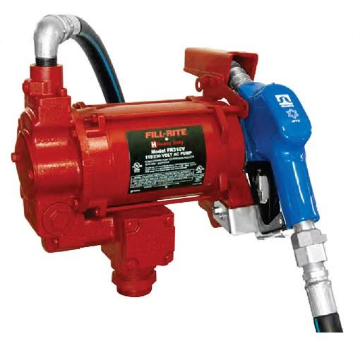 Fill-Rite FR700VARC 115V AC Arctic Pump w/Swivel  w/Automatic Nozzle (20 GPM)