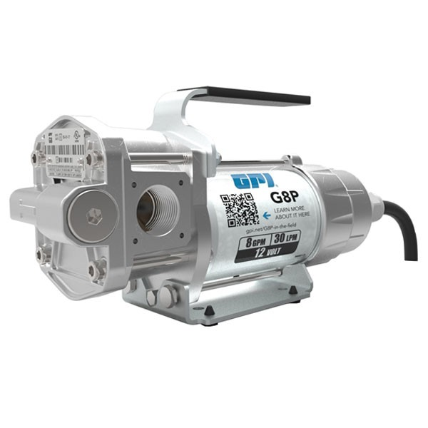 GPI G8P 12 Volt Portable Fuel Transfer Pump (8 GPM)
