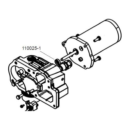 GPI 110025-1 Motor Shaft Seal