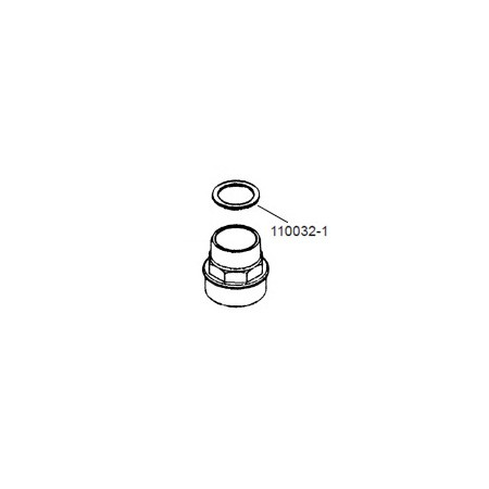 GPI 110032-501 Union Ring Gasket for M-150S, M-180S & M-240S 12V & 24V Electric Gear Pump