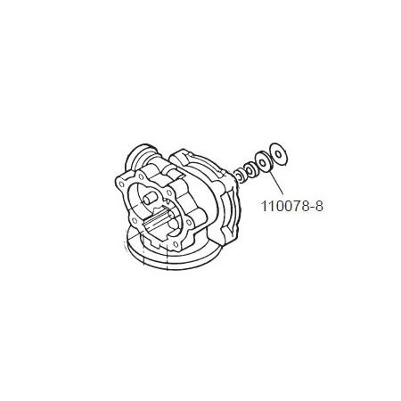 GPI 110078-8 Herbicide Motor Shaft Seal for P-120H & P-200H 12V Plastic Utility Pump